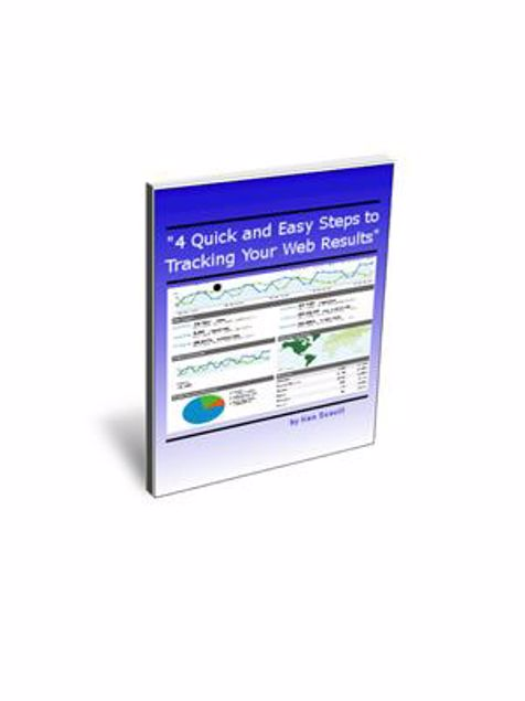 Picture of 4 Quick and Easy Steps to Tracking Your Web Results