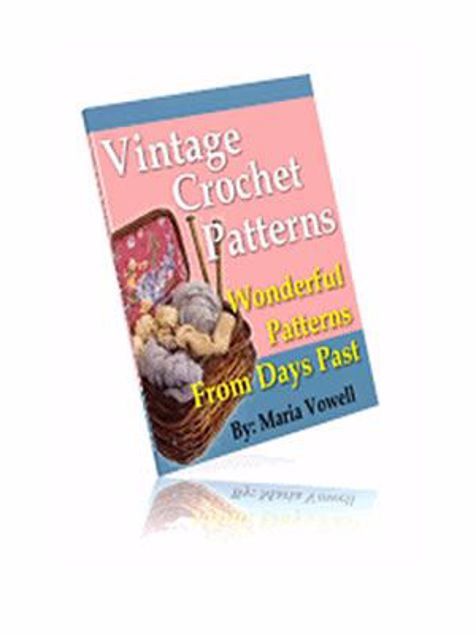 Picture of 20 Wonderful Vintage Crochet Patterns!