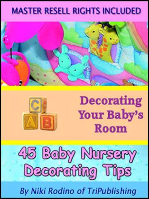 Picture of 45 Baby Nursery Decorating Tips