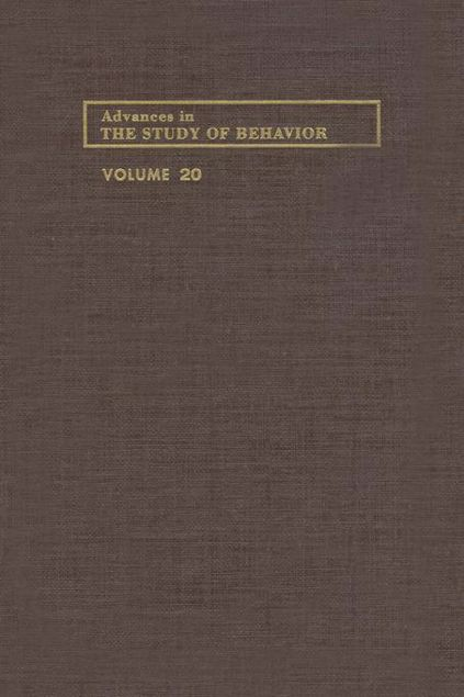 Picture of ADVANCES IN THE STUDY OF BEHAVIOR V 20