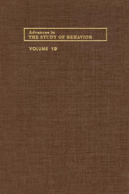 Picture of ADVANCES IN THE STUDY OF BEHAVIOR V 19
