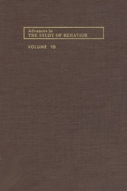 Picture of ADVANCES IN THE STUDY OF BEHAVIOR V 18