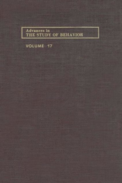Picture of ADVANCES IN THE STUDY OF BEHAVIOR V 17