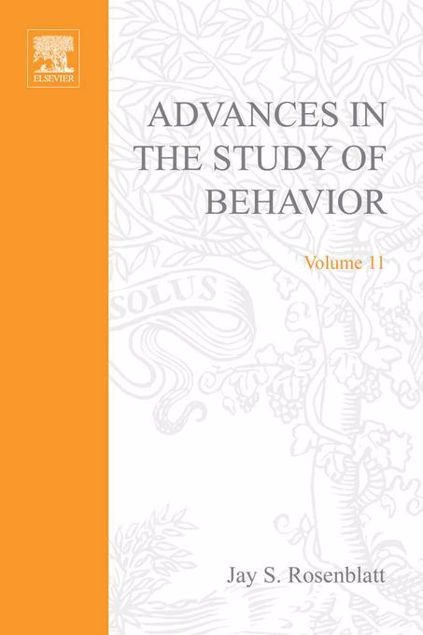 Picture of ADVANCES IN THE STUDY OF BEHAVIOR V 11