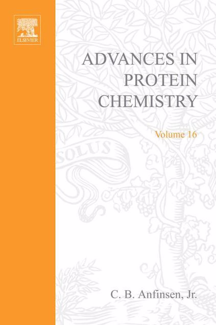 Picture of ADVANCES IN PROTEIN CHEMISTRY VOL 16