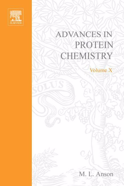Picture of ADVANCES IN PROTEIN CHEMISTRY VOL 10