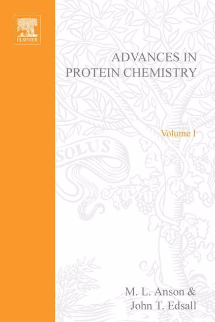 Picture of ADVANCES IN PROTEIN CHEMISTRY VOL 1