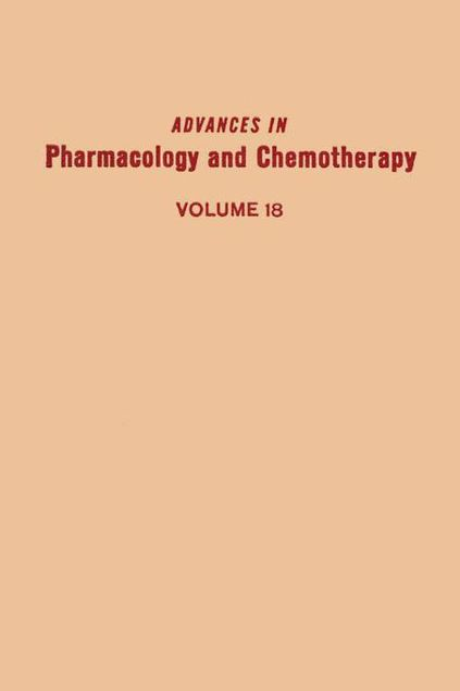 Picture of ADV IN PHARMACOLOGY &CHEMOTHERAPY VOL 18