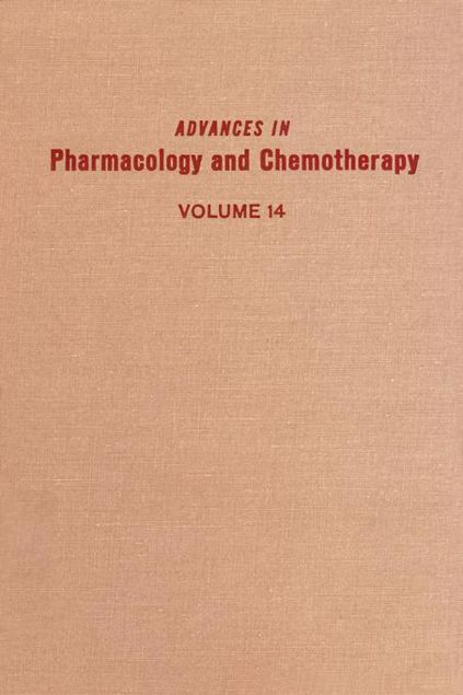 Picture of ADV IN PHARMACOLOGY &CHEMOTHERAPY VOL 14