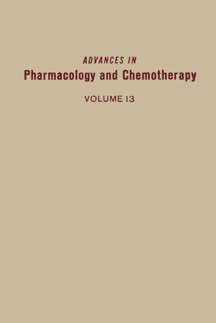 Picture of ADV IN PHARMACOLOGY &CHEMOTHERAPY VOL 13