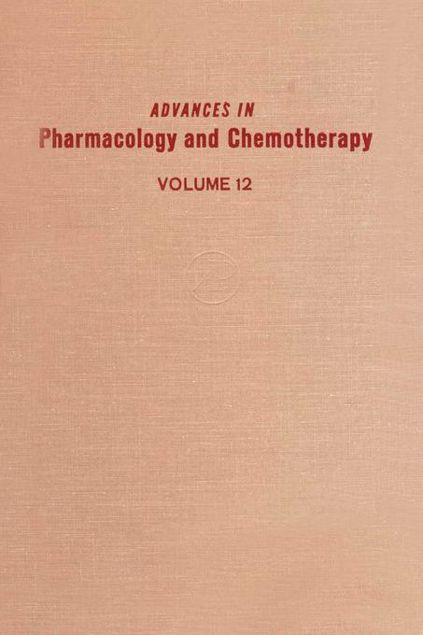 Picture of ADV IN PHARMACOLOGY &CHEMOTHERAPY VOL 12