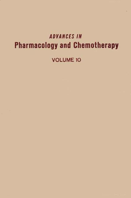 Picture of ADV IN PHARMACOLOGY &CHEMOTHERAPY VOL 10