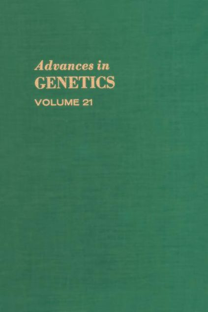 Picture of Advances in Genetics