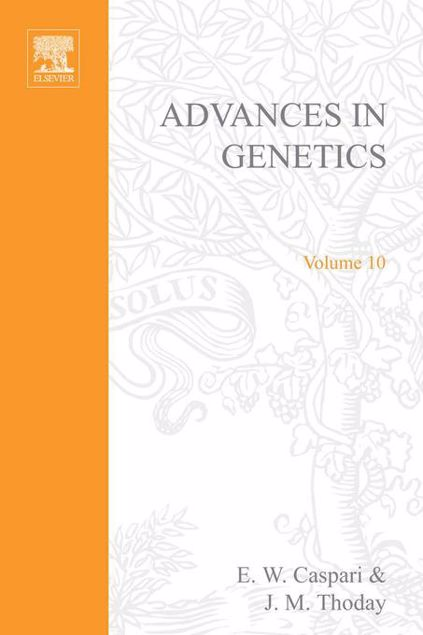 Picture of ADVANCES IN GENETICS VOLUME 10
