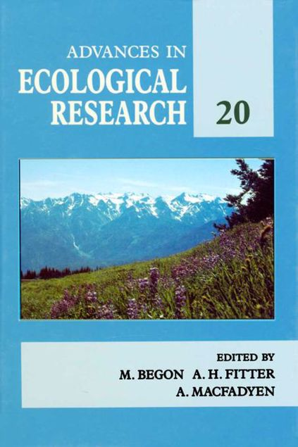 Picture of Advances in Ecological Research: Volume 20