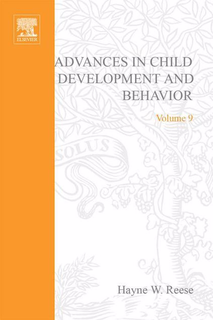 Picture of ADV IN CHILD DEVELOPMENT &BEHAVIOR V 9