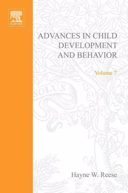Picture of ADV IN CHILD DEVELOPMENT &BEHAVIOR V 7