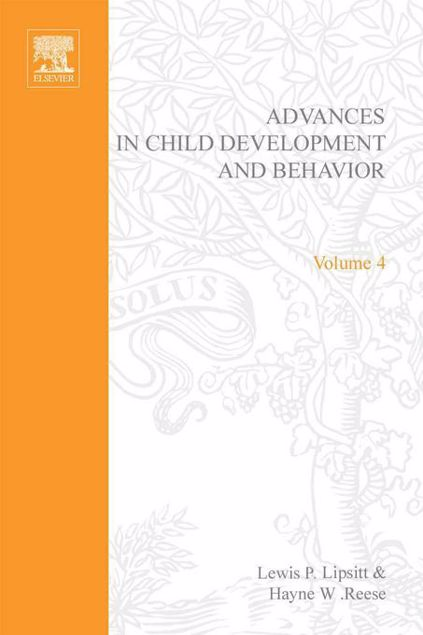 Picture of ADV IN CHILD DEVELOPMENT &BEHAVIOR V 4