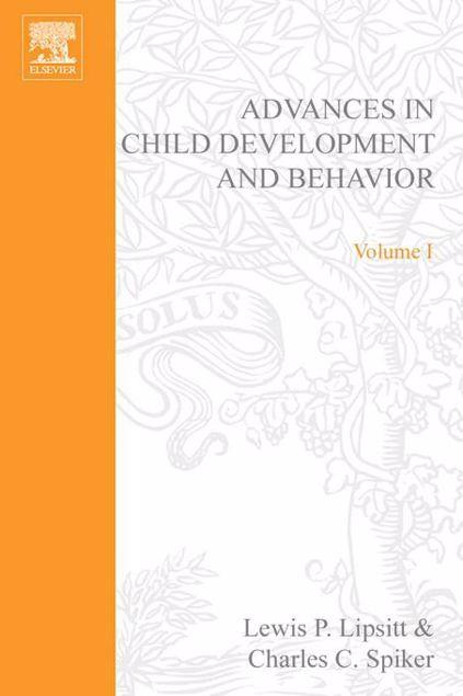 Picture of ADV IN CHILD DEVELOPMENT &BEHAVIOR V 1