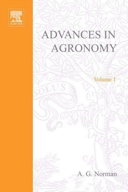 Picture of ADVANCES IN AGRONOMY VOLUME 1