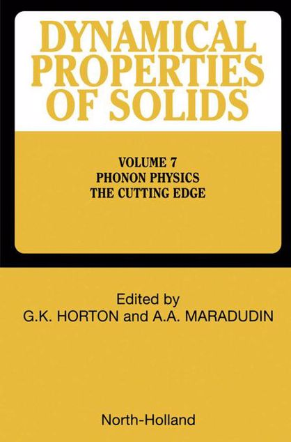 Picture of Phonon Physics The Cutting Edge