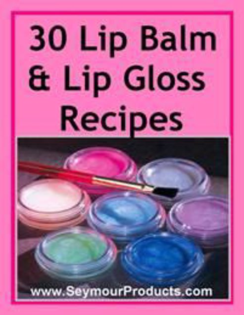 Picture of 30 Lip Gloss Recipes