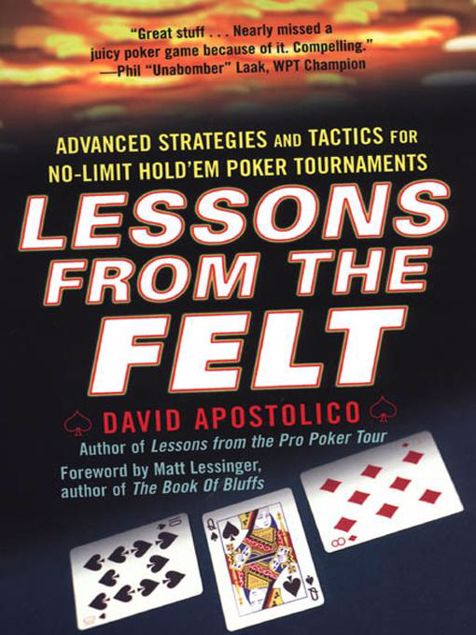 Picture of Lessons From The Felt