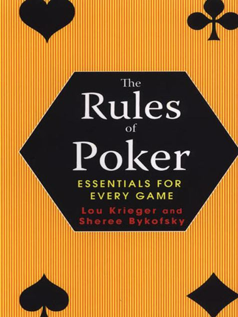 Picture of The Rules Of Poker