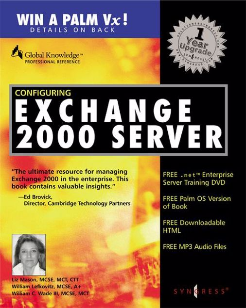 Picture of configuring exchange server 2000