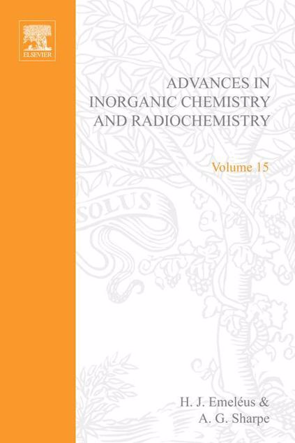 Picture of ADVANCES IN INORGANIC CHEMISTRY AND RADIOCHEMISTRY VOL 15