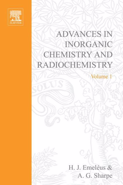 Picture of ADVANCES IN INORGANIC CHEMISTRY AND RADIOCHEMISTRY VOL 1