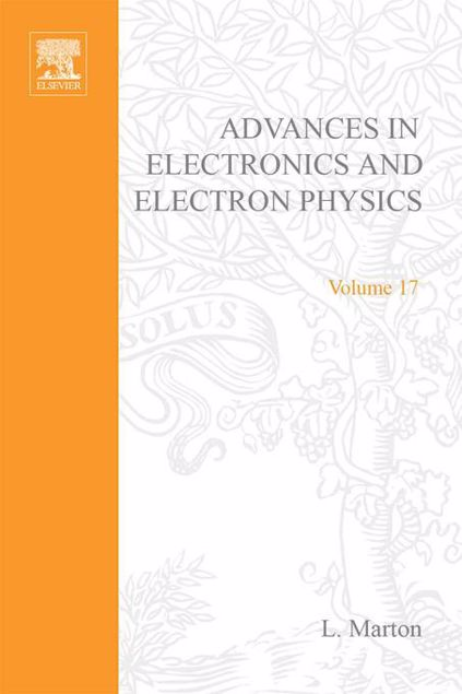 Picture of ADV ELECTRONICS ELECTRON PHYSICS V17