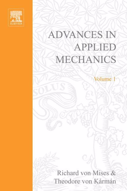 Picture of ADVANCES IN APPLIED MECHANICS VOLUME 1