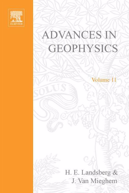 Picture of ADVANCES IN GEOPHYSICS VOLUME 11