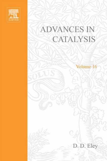 Picture of ADVANCES IN CATALYSIS VOLUME 16