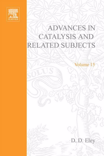 Picture of ADVANCES IN CATALYSIS VOLUME 15