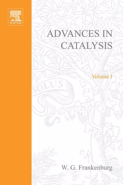 Picture of ADVANCES IN CATALYSIS VOLUME 1