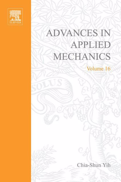 Picture of ADVANCES IN APPLIED MECHANICS VOLUME 16