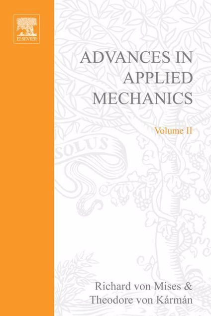 Picture of ADVANCES IN APPLIED MECHANICS VOLUME 2
