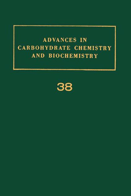 Picture of ADV IN CARBOHYDRATE CHEM & BIOCHEM VOL38
