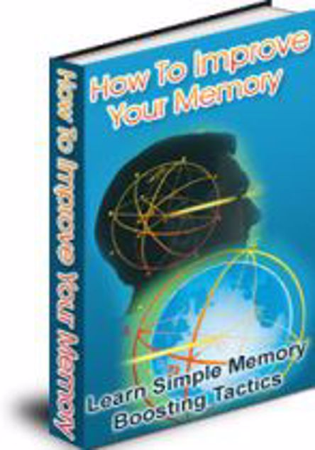 Picture of How To Improve Your Memory