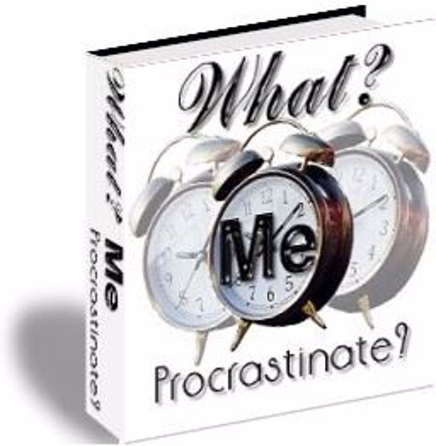 Picture of Procrastination