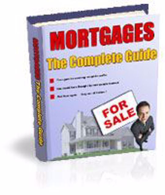 Picture of Mortgages The Complete Guide