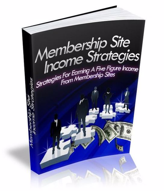 Picture of Membership Site Income Strategies