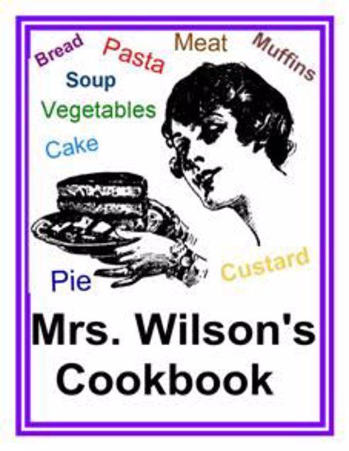 Picture of Mrs. Wilson's Cookbook