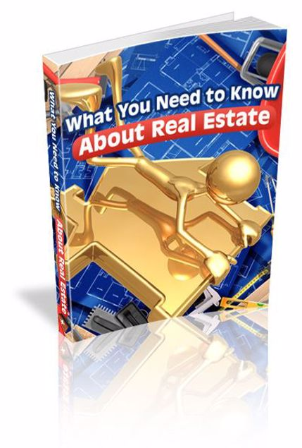Picture of What You Need To Know About Real Estate