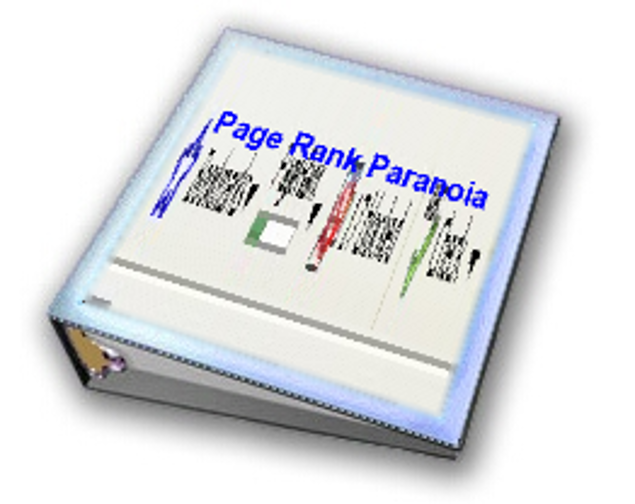 Picture of CURE YOUR PAGE RANK PARANOIA!