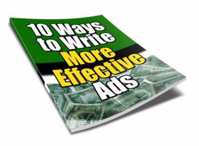 Picture of 10 Ways To Write More Effective Ads