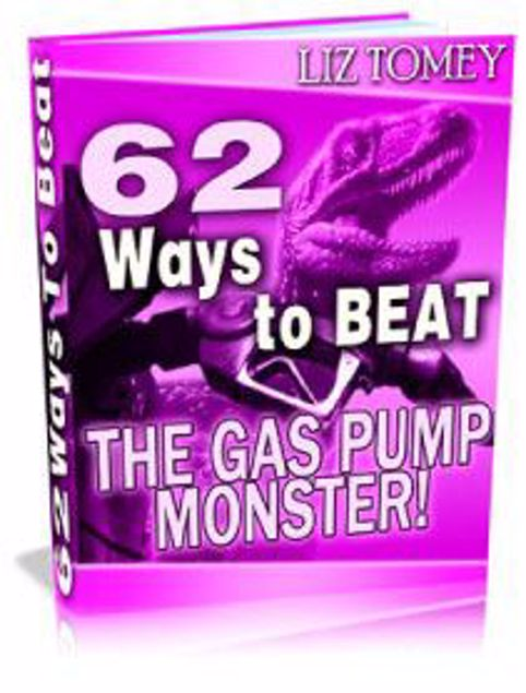 Picture of 62 Ways To Beat The Gas Pump Monster