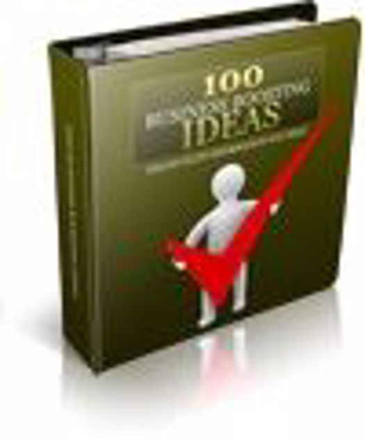 Picture of 100 Business Boosting Ideas